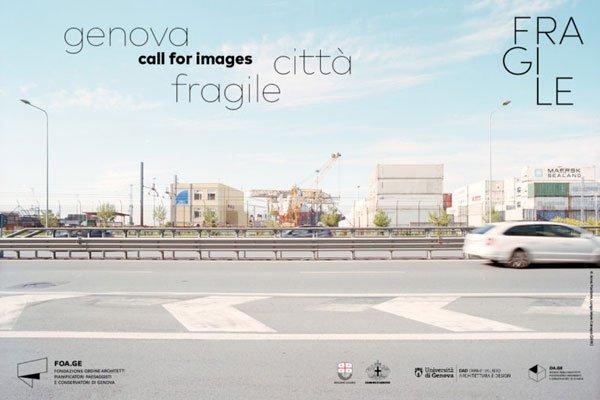 GENOVA CITTA' FRAGILE, CALL OF ARTIST